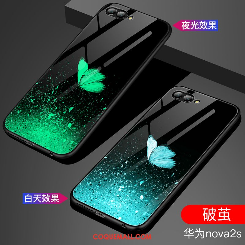 Étui Huawei Nova 2s Tout Compris Miroir Créatif, Coque Huawei Nova 2s Mode Tendance
