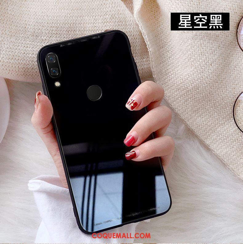 Étui Huawei Nova 3 Créatif Verre Téléphone Portable, Coque Huawei Nova 3 Couleur Unie Difficile
