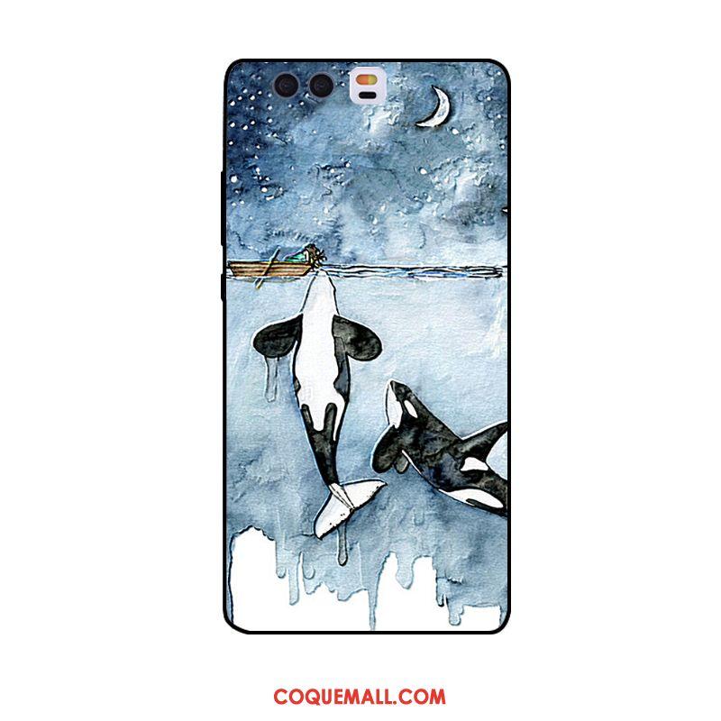 Étui Huawei P10 Plus Cerf Ornements Suspendus Personnalité, Coque Huawei P10 Plus Jeunesse Gaufrage