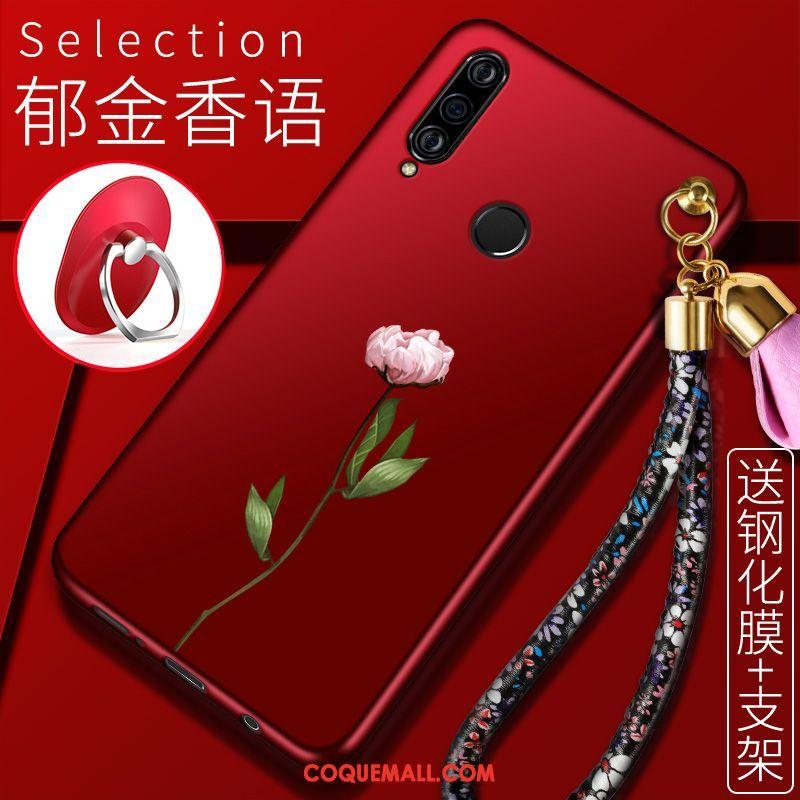 Étui Huawei P30 Lite Tout Compris Téléphone Portable Support, Coque Huawei P30 Lite Très Mince Fluide Doux