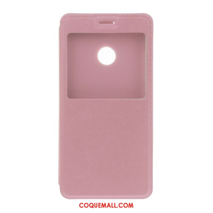 Étui Huawei P8 Lite 2017 Ouvrir La Fenêtre Rouge Téléphone Portable, Coque Huawei P8 Lite 2017 Étui En Cuir Support