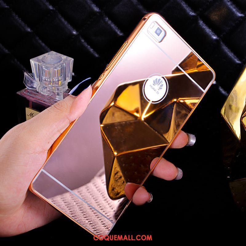 Étui Huawei P8 Tendance Métal Protection, Coque Huawei P8 Personnalité Téléphone Portable Champagner Farbe