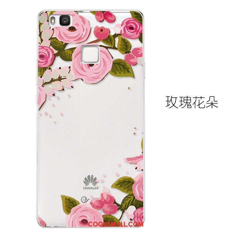 Étui Huawei P9 Lite Très Mince Protection Téléphone Portable, Coque Huawei P9 Lite Fluide Doux Incassable