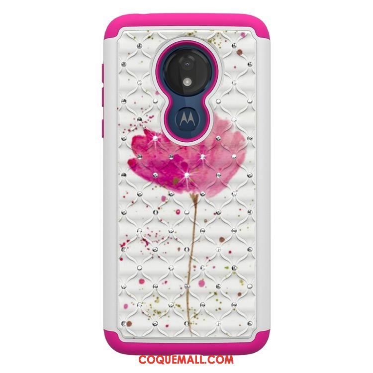 Étui Moto G7 Power Personnalité Téléphone Portable Tendance, Coque Moto G7 Power Tout Compris Dessin Animé