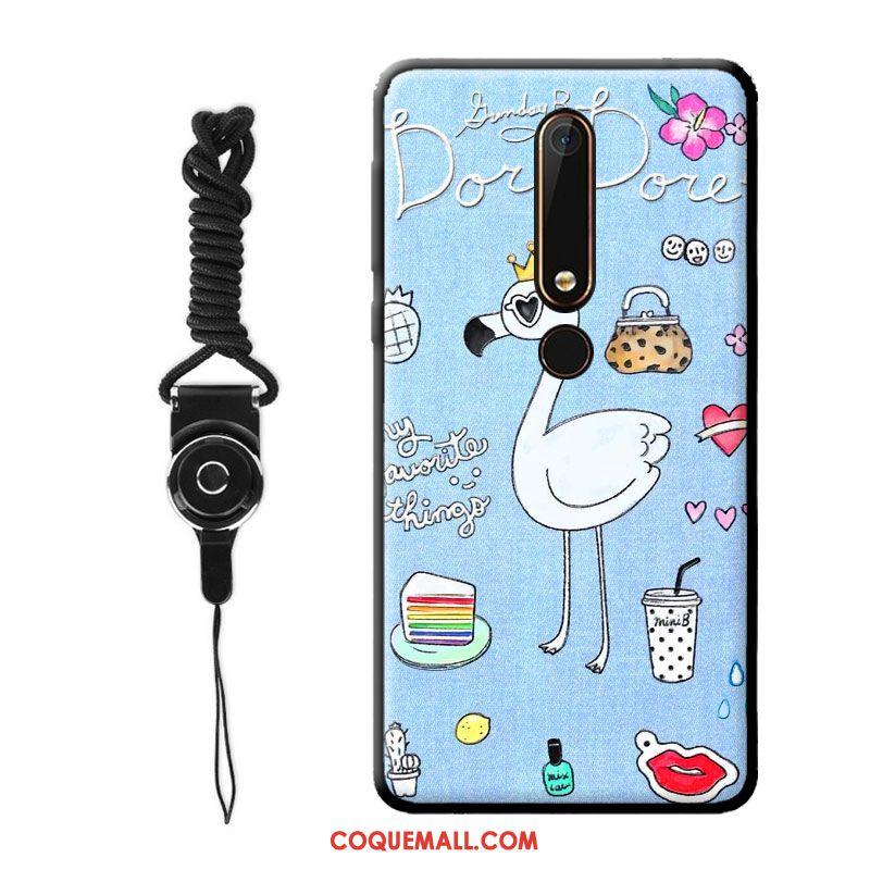 Étui Nokia 8 Nouveau Vent Silicone, Coque Nokia 8 Dessin Animé Tout Compris