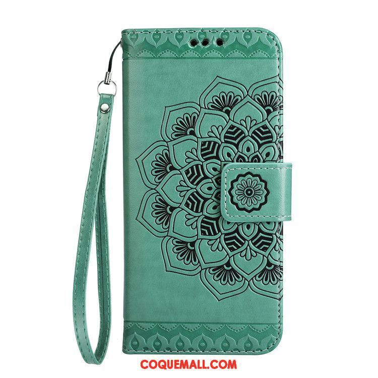 Étui Samsung Galaxy A3 2017 Clamshell Protection Incassable, Coque Samsung Galaxy A3 2017 Vert Étui En Cuir