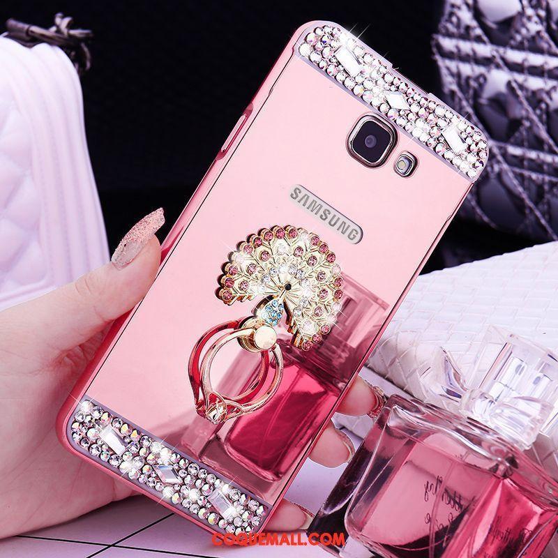 Étui Samsung Galaxy A5 2016 Métal Protection Border, Coque Samsung Galaxy A5 2016 Étoile Strass