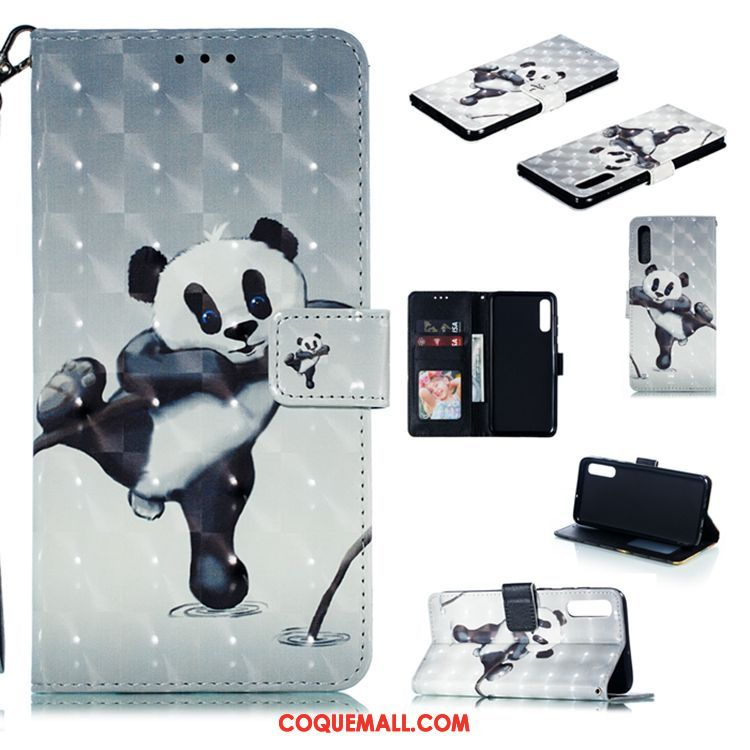 coque samsung a70 panda
