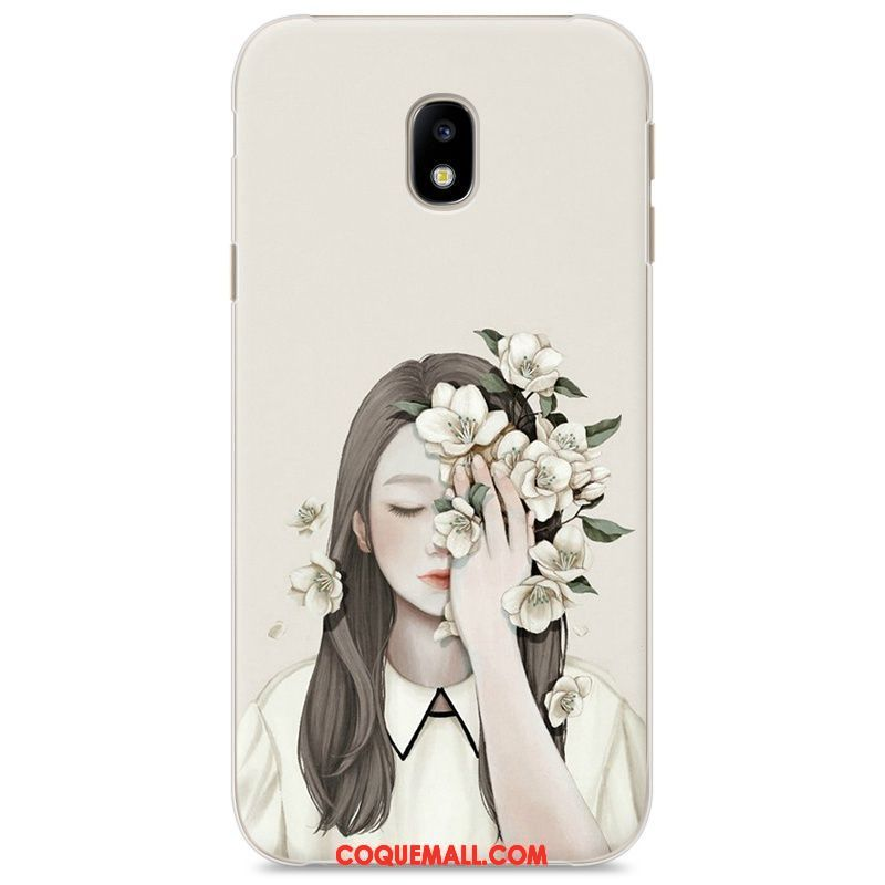 Étui Samsung Galaxy J3 2017 Peinture Étoile Nouveau, Coque Samsung Galaxy J3 2017 Téléphone Portable Protection