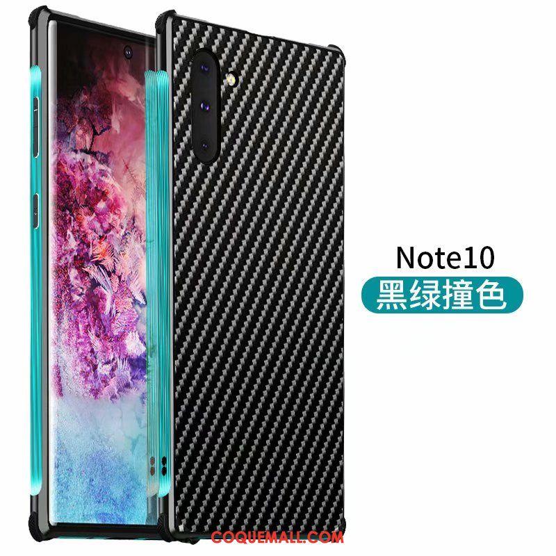 Étui Samsung Galaxy Note 10 Incassable Étoile Métal, Coque Samsung Galaxy Note 10 Délavé En Daim Bleu