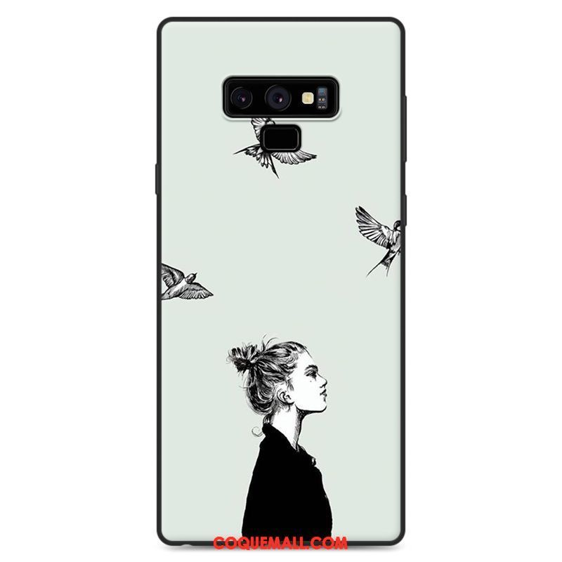 coque galaxy note 9 dessin anime