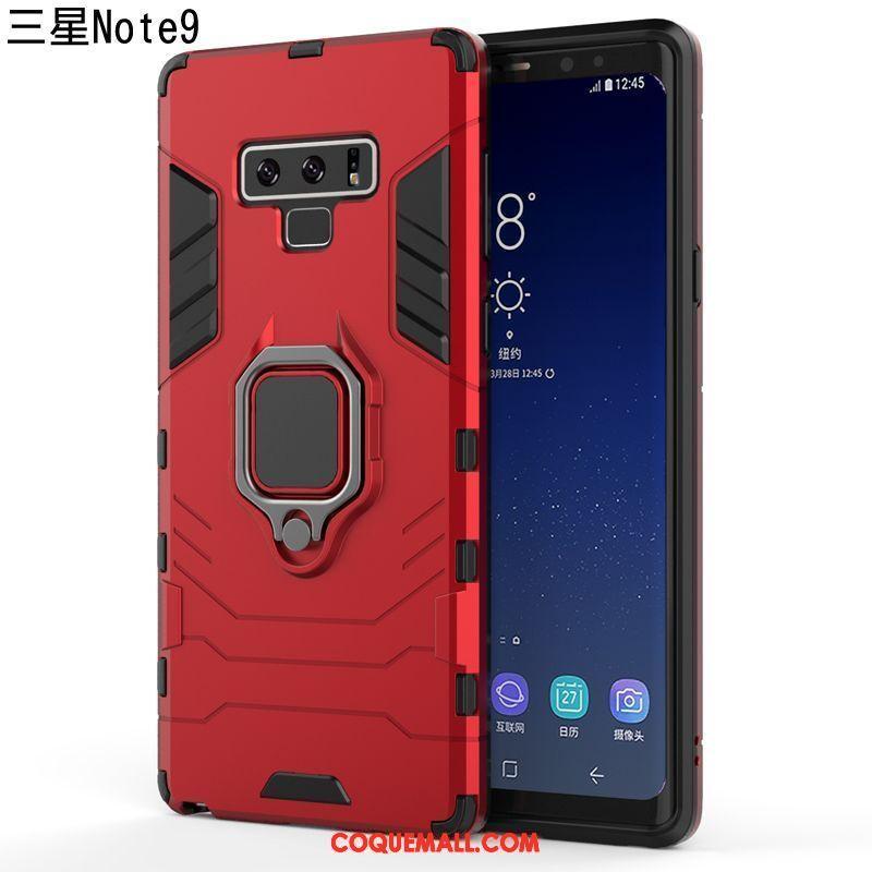 Étui Samsung Galaxy Note 9 Magnétisme Fluide Doux Nouveau, Coque Samsung Galaxy Note 9 Délavé En Daim Noir