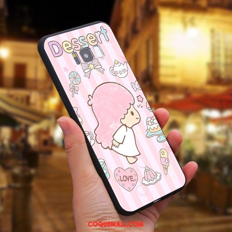 Étui Samsung Galaxy S8 Étoile Téléphone Portable Silicone, Coque Samsung Galaxy S8 Dessin Animé Personnalisé