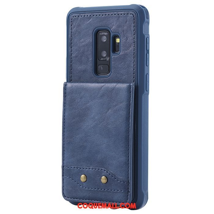 Étui Samsung Galaxy S9+ Ornements Suspendus Téléphone Portable Étoile, Coque Samsung Galaxy S9+ Étui En Cuir Support