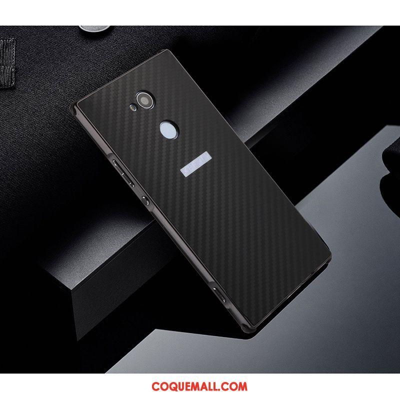 Étui Sony Xperia Xa2 Protection Incassable Difficile, Coque Sony Xperia Xa2 Rose Border