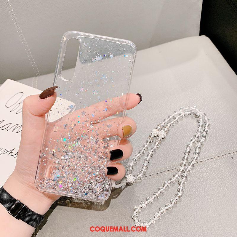 Étui Xiaomi Mi 9 Lite Incassable Téléphone Portable Vintage, Coque Xiaomi Mi 9 Lite Très Mince Modèle Beige