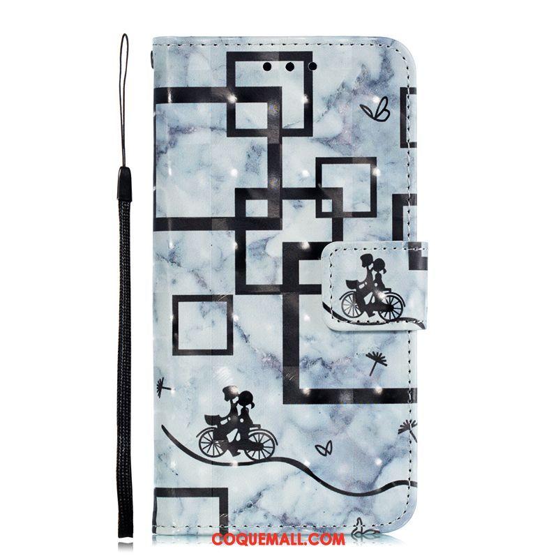 Étui Xiaomi Redmi 6a Personnalité Protection Téléphone Portable, Coque Xiaomi Redmi 6a Étui En Cuir Rouge