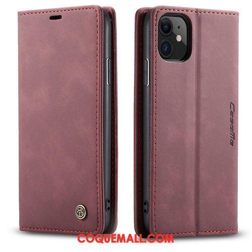 Étui iPhone 11 Clamshell Luxe Bleu, Coque iPhone 11 Incassable Business