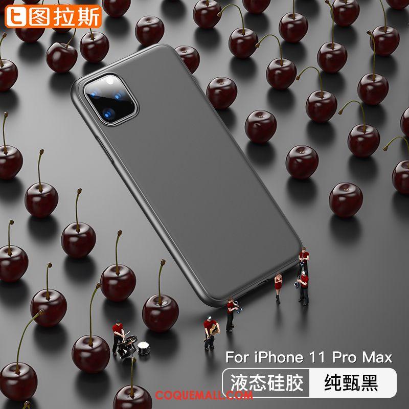 Étui iPhone 11 Pro Max Modèle Incassable Tendance, Coque iPhone 11 Pro Max Net Rouge Vert