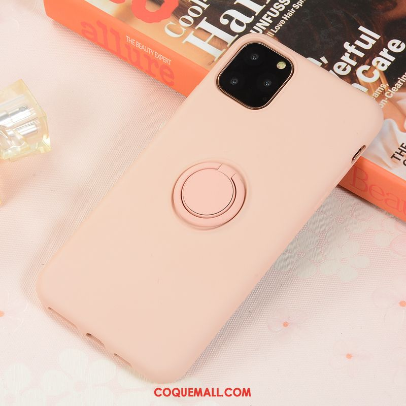 Étui iPhone 11 Pro Max Net Rouge Protection Incassable, Coque iPhone 11 Pro Max Magnétisme Téléphone Portable