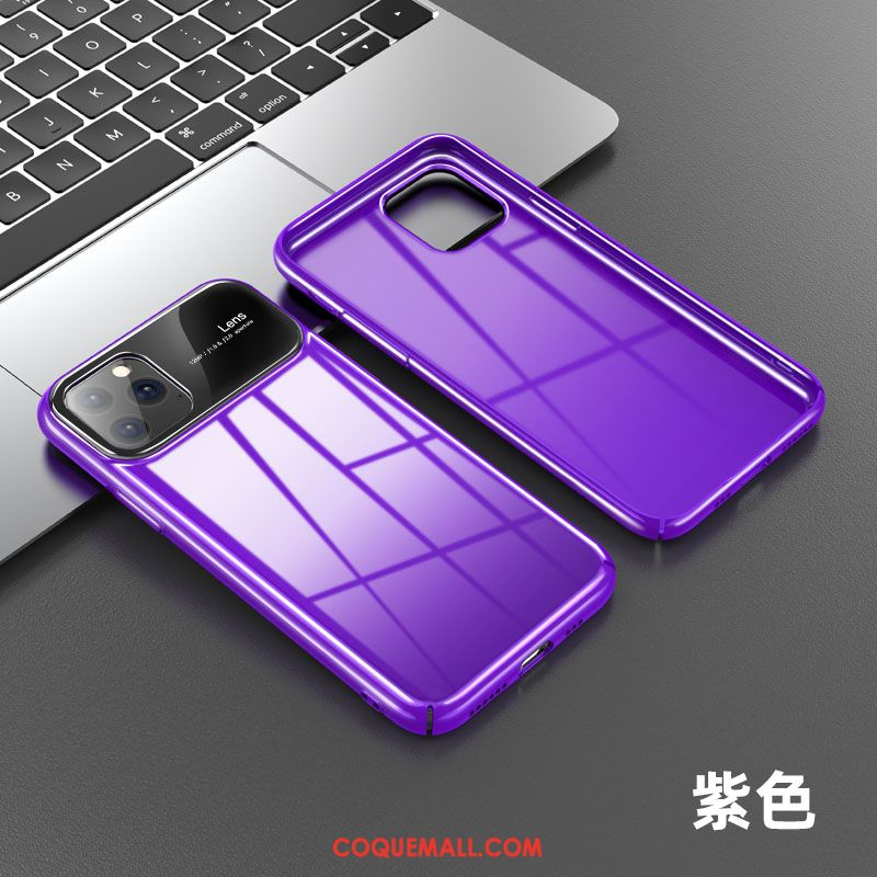 Étui iPhone 11 Pro Max Téléphone Portable Amoureux Nouveau, Coque iPhone 11 Pro Max Net Rouge Violet