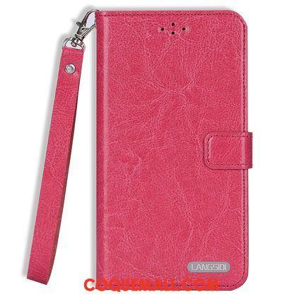 Étui iPhone 11 Protection Carte Tout Compris, Coque iPhone 11 Cuir Véritable Téléphone Portable Braun