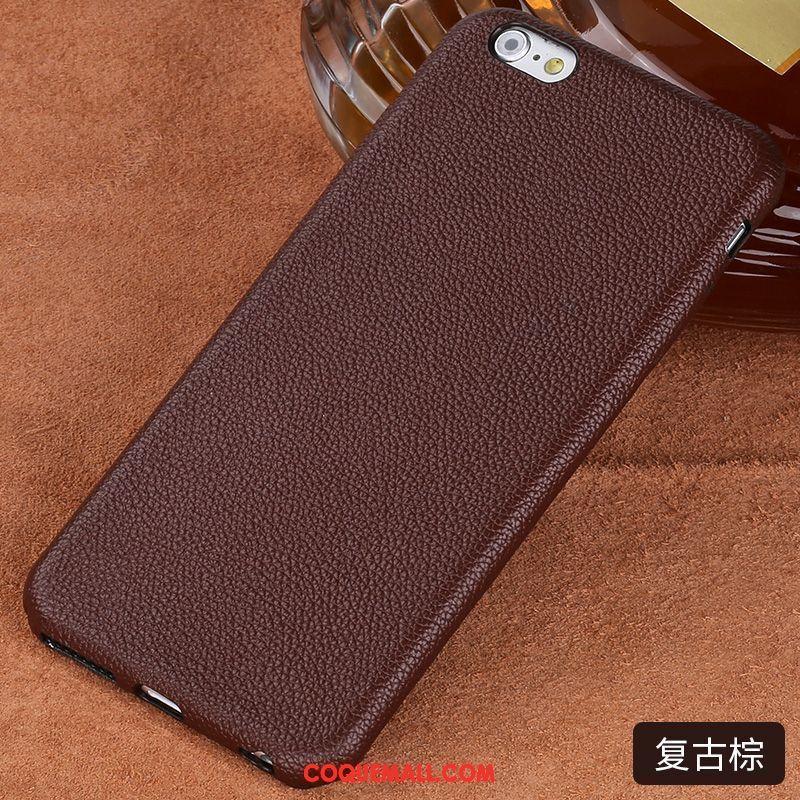 Étui iPhone 6 / 6s Étui En Cuir Tout Compris Marque De Tendance, Coque iPhone 6 / 6s Téléphone Portable Incassable