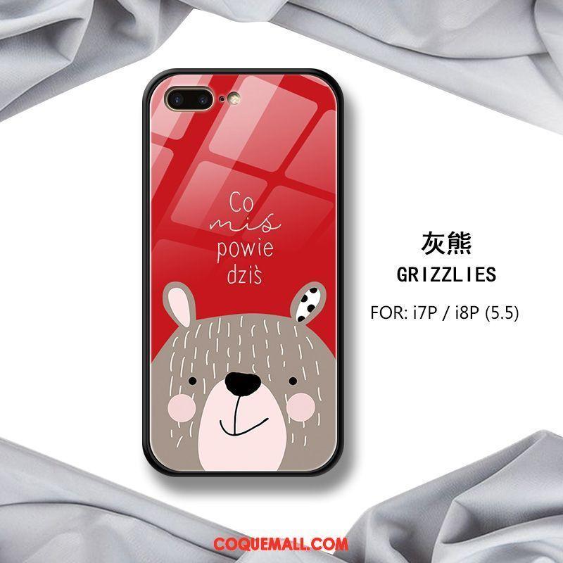 Étui iPhone 7 Plus Amoureux Tout Compris Fluide Doux, Coque iPhone 7 Plus Silicone Nouveau