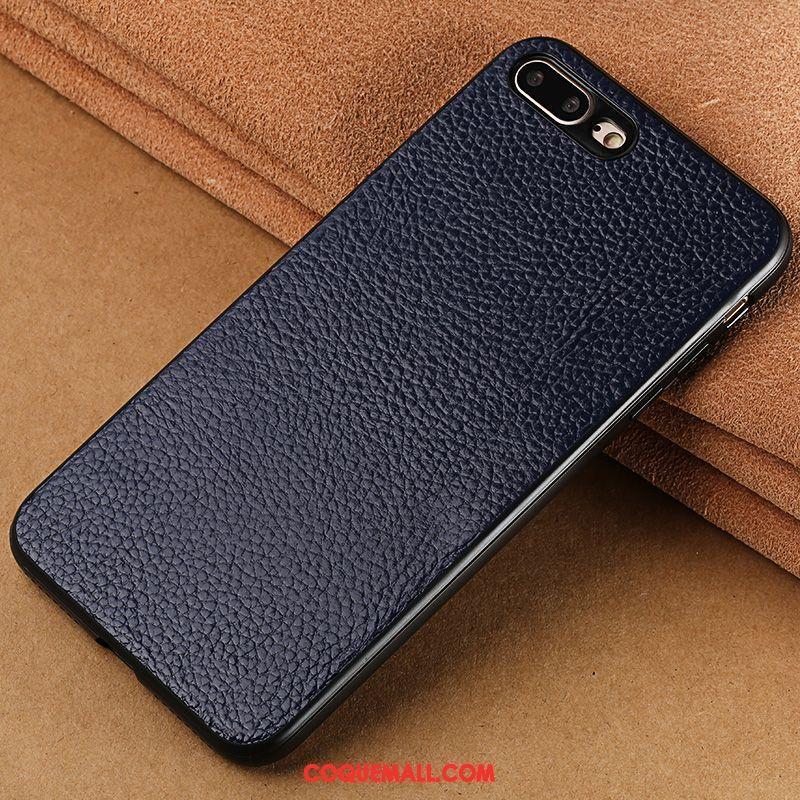 Étui iPhone 7 Plus Créatif Luxe Incassable, Coque iPhone 7 Plus Rouge Téléphone Portable