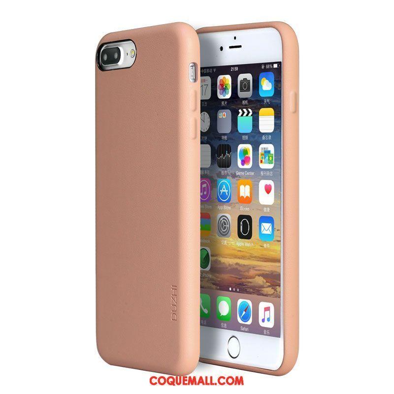 Étui iPhone 7 Plus Tout Compris Rose Marque De Tendance Coque iPhone 7 Plus Incassable Amoureux 706 c03