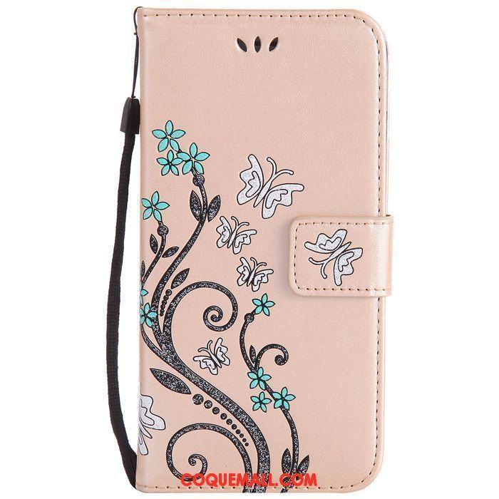 Étui iPhone 8 Plus Étui En Cuir Clamshell Protection, Coque iPhone 8 Plus Téléphone Portable Fluide Doux