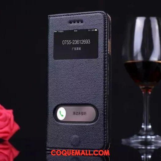 Étui iPhone 8 Plus Incassable Fluide Doux Protection, Coque iPhone 8 Plus Tout Compris Cuir Véritable
