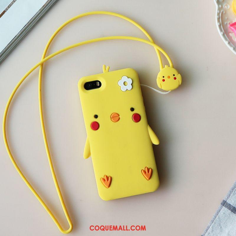 Étui iPhone Se Super Mignon Incassable Tout Compris, Coque iPhone Se Dessin Animé Créatif