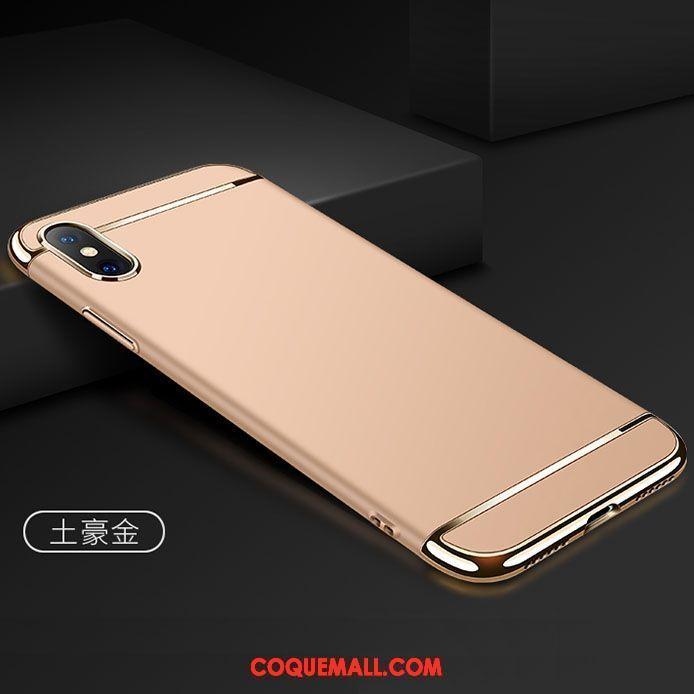 Étui iPhone X Noir Tout Compris Bleu Coque iPhone X Plastique Incassable 973 c04