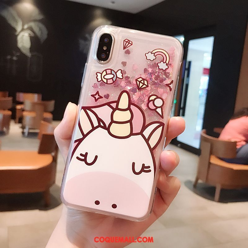 coque iphone x silicone dessin