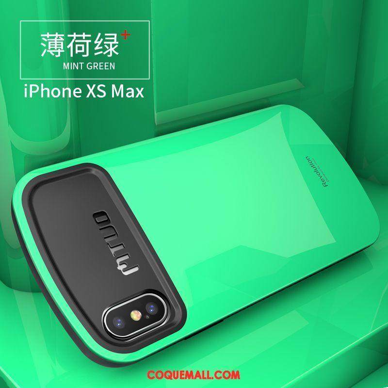 coque iphone xs max mint