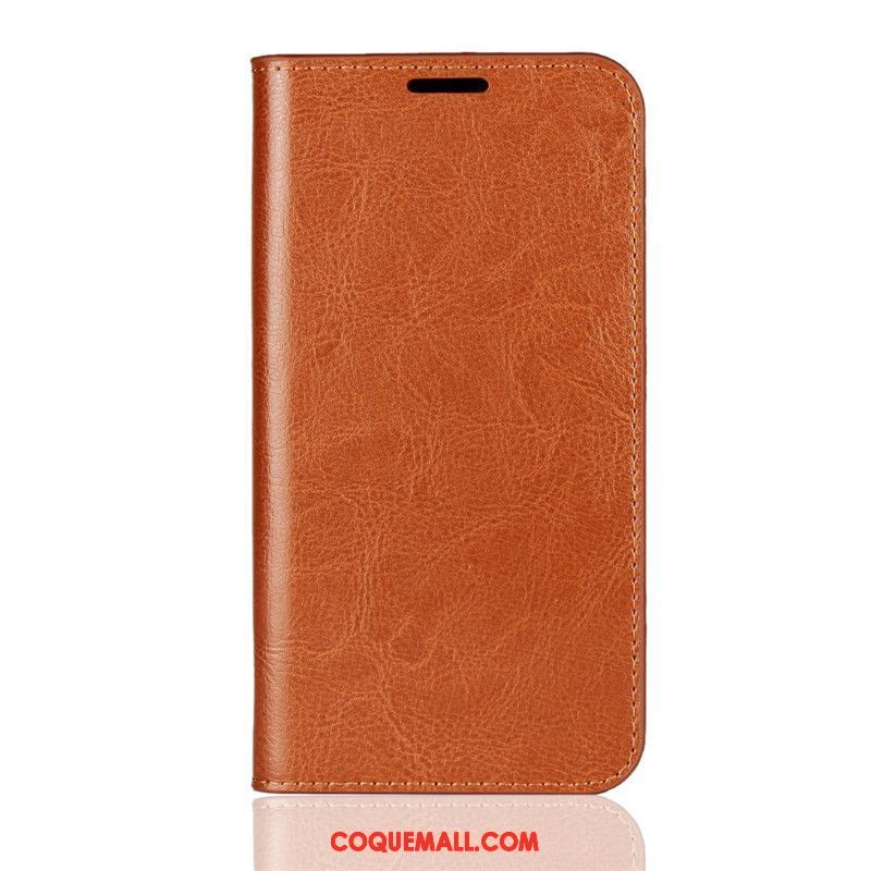 coque iphone xs cuir rouge