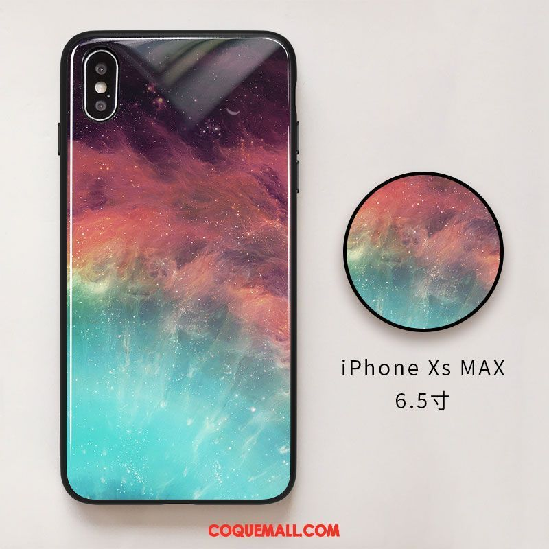 iphone xs coque vert