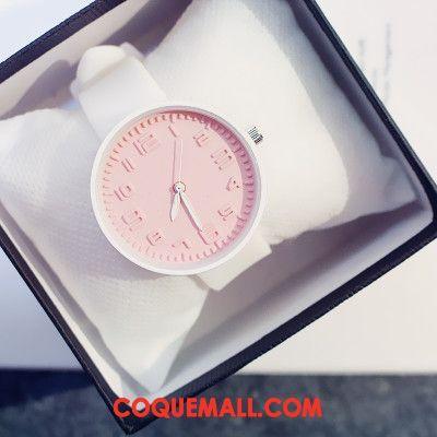 Gant Femme Montre À Bracelet Simple Doux, Gant Milieu Tendance