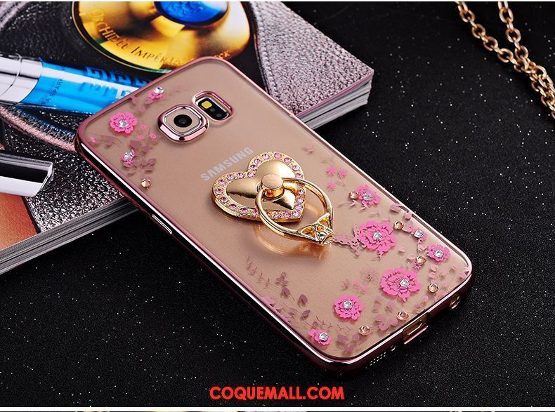coque samsung s6 silicone amour