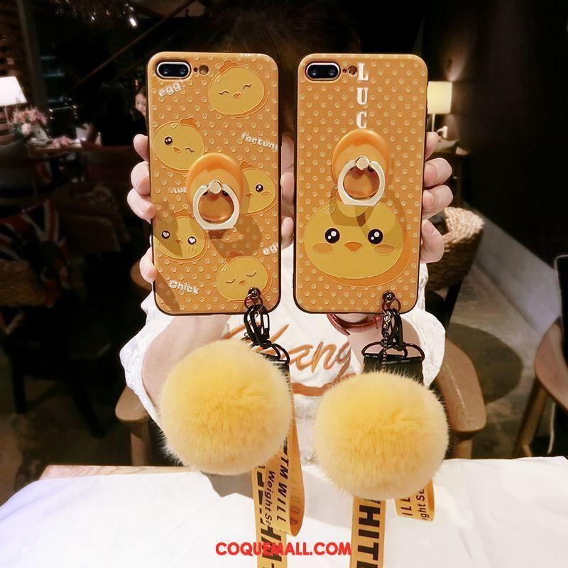 coque iphone 8 plus pompon