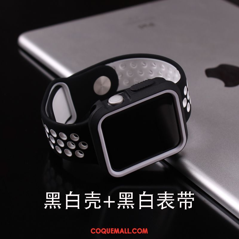 Étui Apple Watch Series 1 Accessoires Silicone Incassable, Coque Apple Watch Series 1 Protection Très Mince