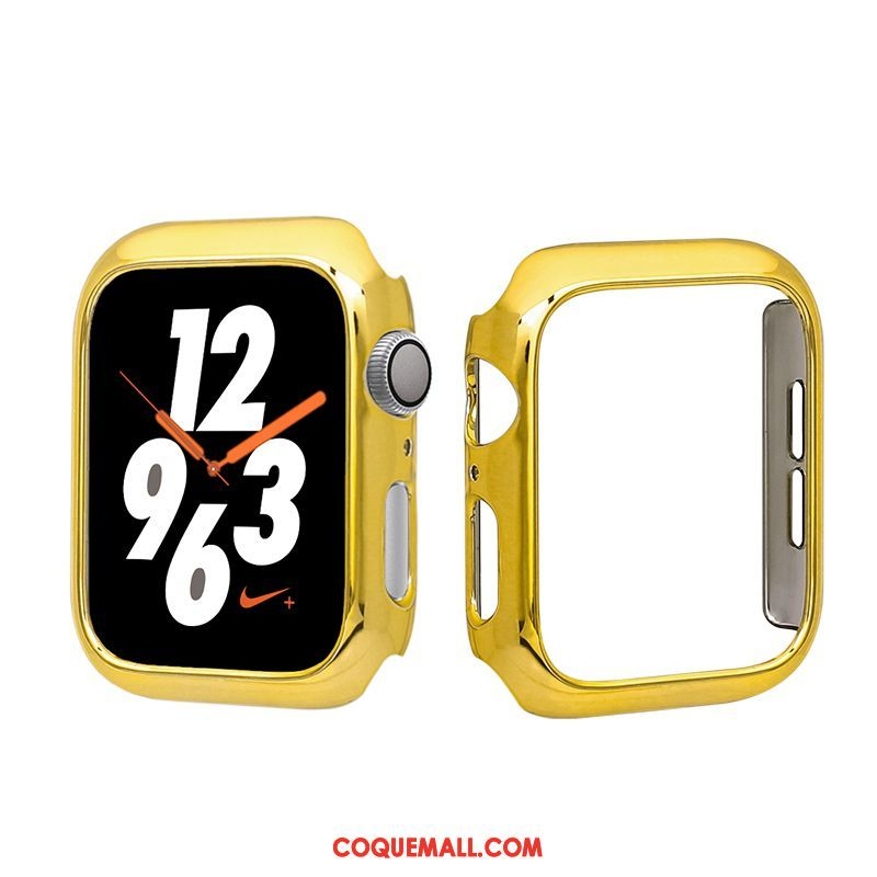 Étui Apple Watch Series 1 Mince Protection Simple, Coque Apple Watch Series 1 Jaune Tout Compris