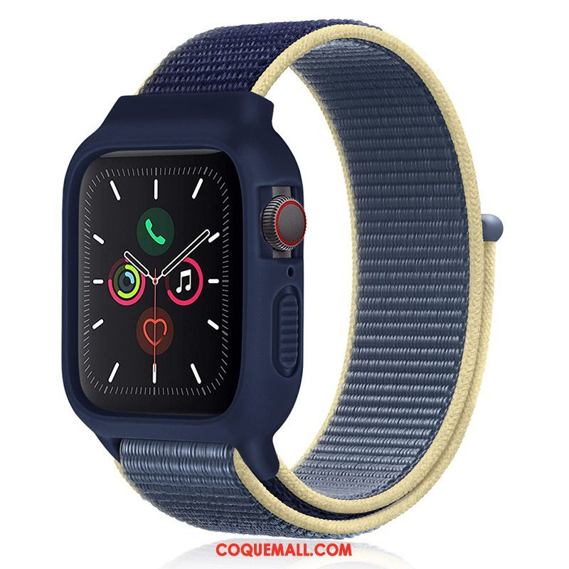 Étui Apple Watch Series 1 Tendance Silicone Sport, Coque Apple Watch Series 1 Nouveau Bleu