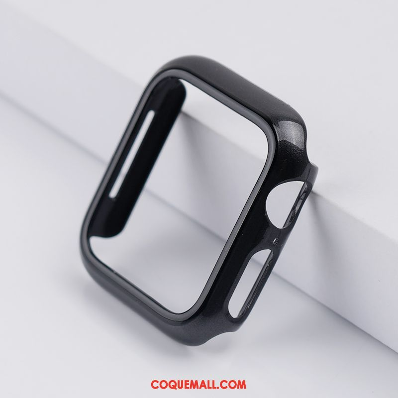Étui Apple Watch Series 3 Bicolore Incassable Protection, Coque Apple Watch Series 3 Noir Sac