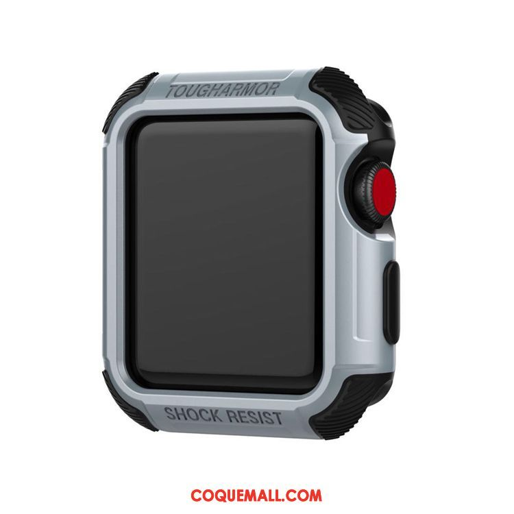 Étui Apple Watch Series 3 Jours Gris Protection, Coque Apple Watch Series 3