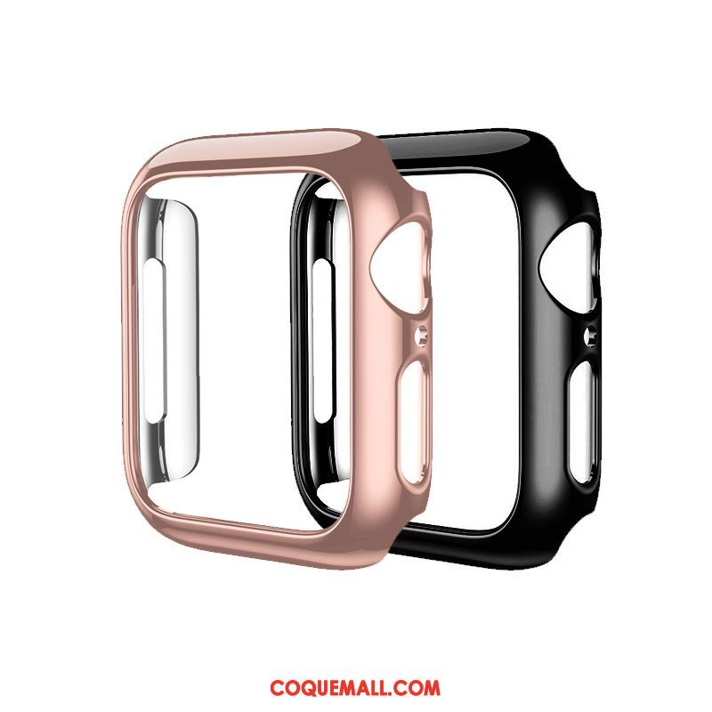 Étui Apple Watch Series 3 Noir Tout Compris Placage, Coque Apple Watch Series 3 Protection Difficile