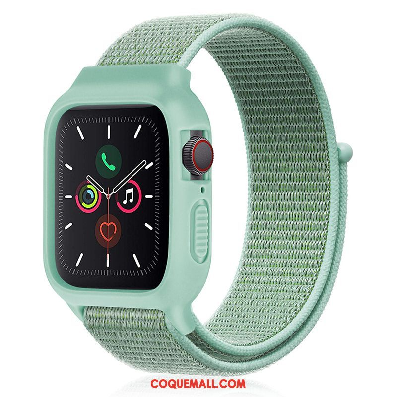 Étui Apple Watch Series 3 Nylon Sport Silicone, Coque Apple Watch Series 3 Nouveau Vert