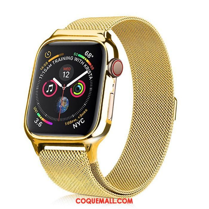 Étui Apple Watch Series 3 Or Tout Compris Protection, Coque Apple Watch Series 3