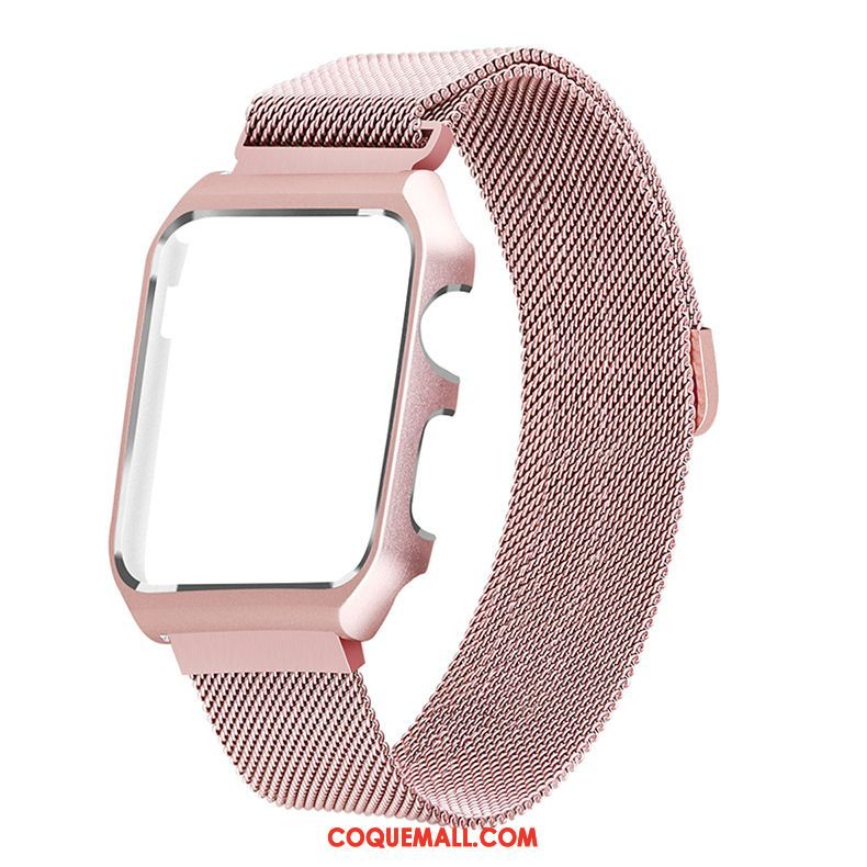 Étui Apple Watch Series 3 Rose Protection, Coque Apple Watch Series 3 Beige